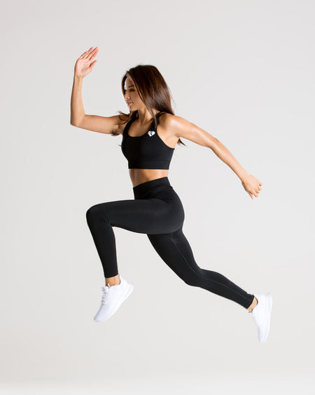 Power Seamless Leggings | Black