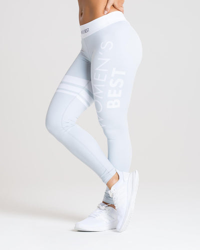 Inspire Leggings | Grey/White