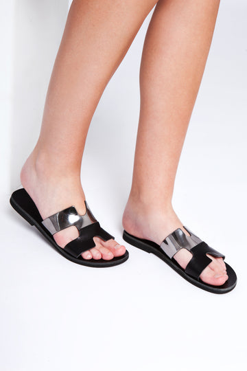 Ancient greek style sandals