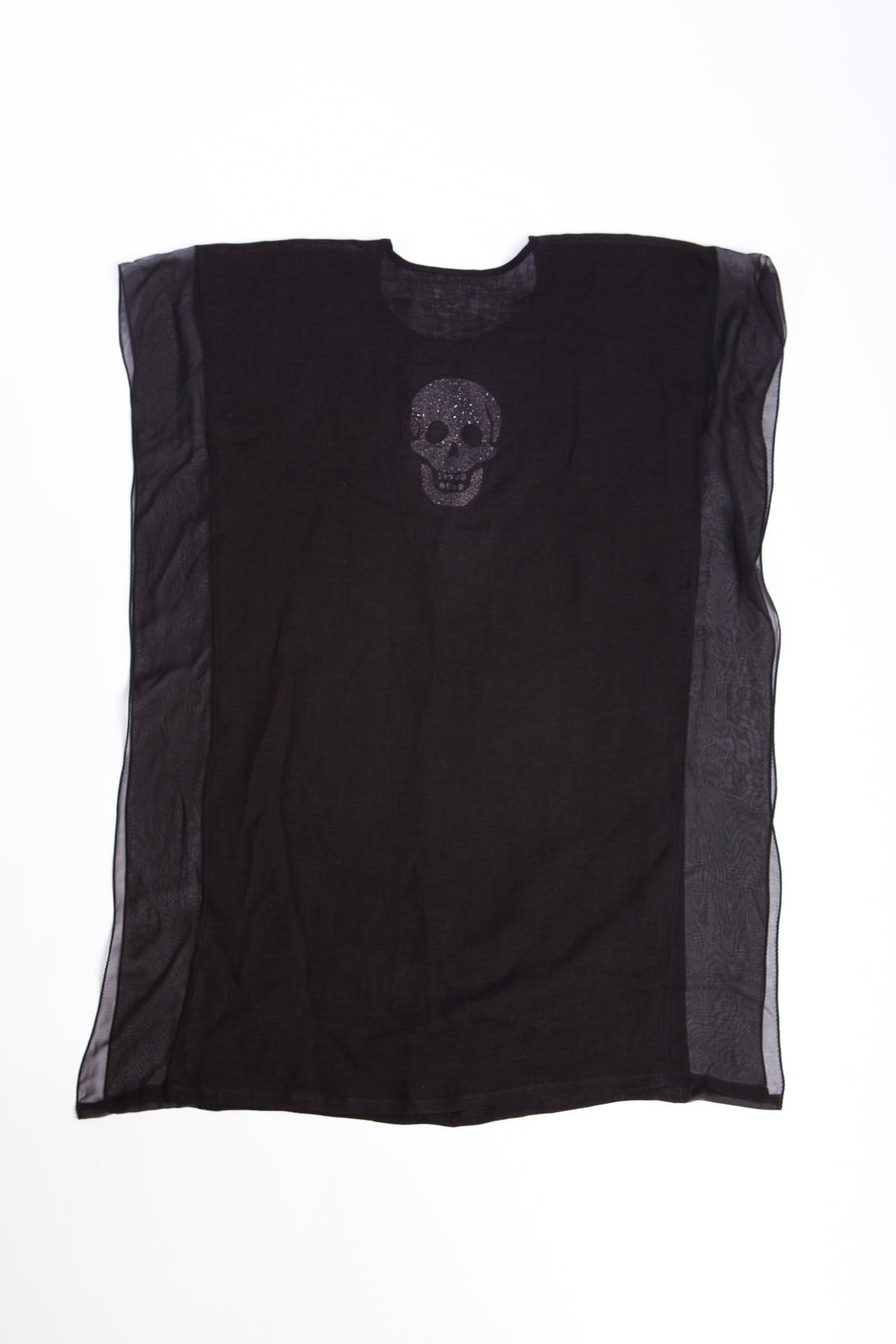 Double layer top with skull