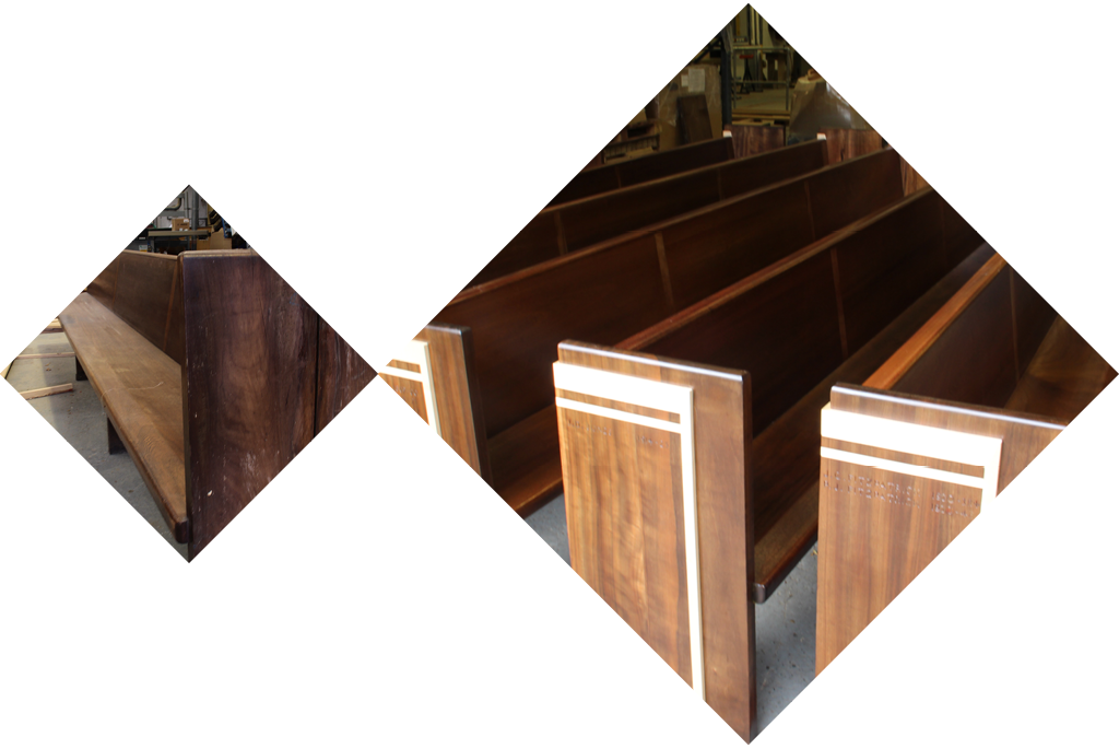 Hayes and Finch Church Suppliers | Furniture Renovation