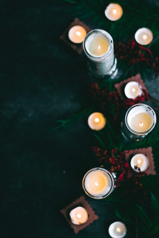 pillar candle tunnelling