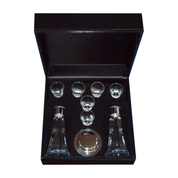 8 piece free church communion set