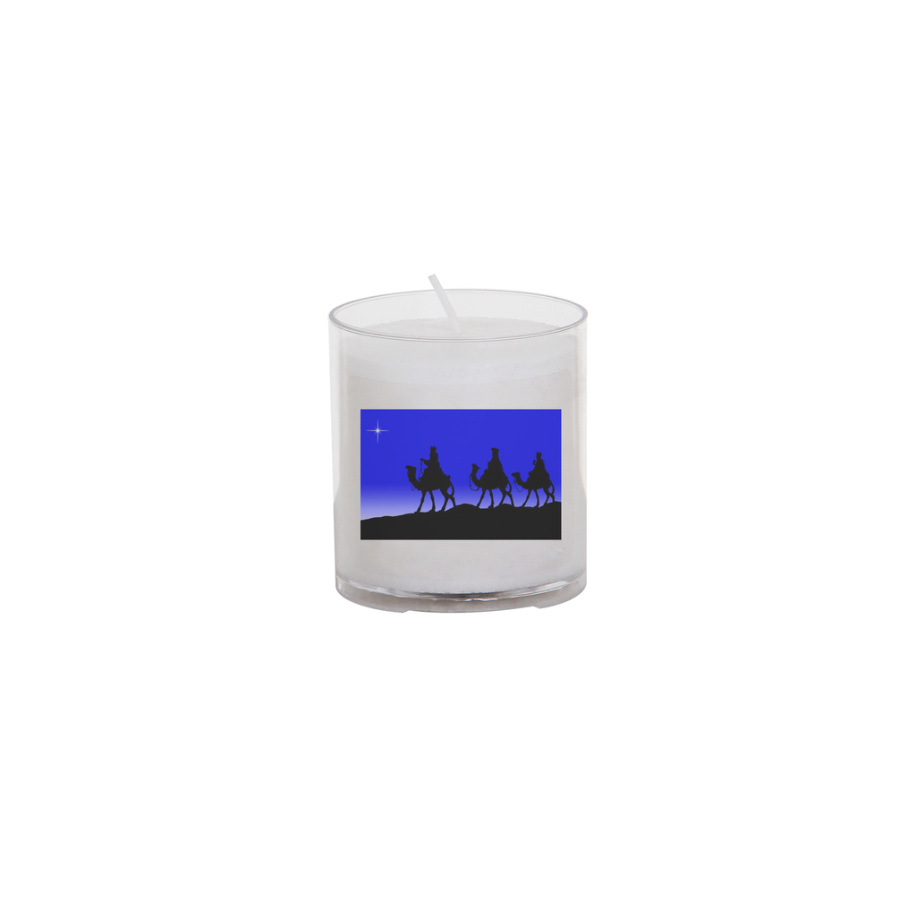 christmas seasonal transfer 24 hour votive light - three kings