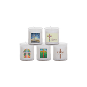 easter mix transfers 24 hour votive lights