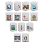 easter seasonal transfer 24 hour votive light - all designs
