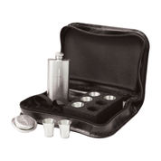 8 piece pewter communion set