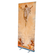 ascension commemorative design pop up banner