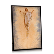 ascension commemorative design a3 framed print