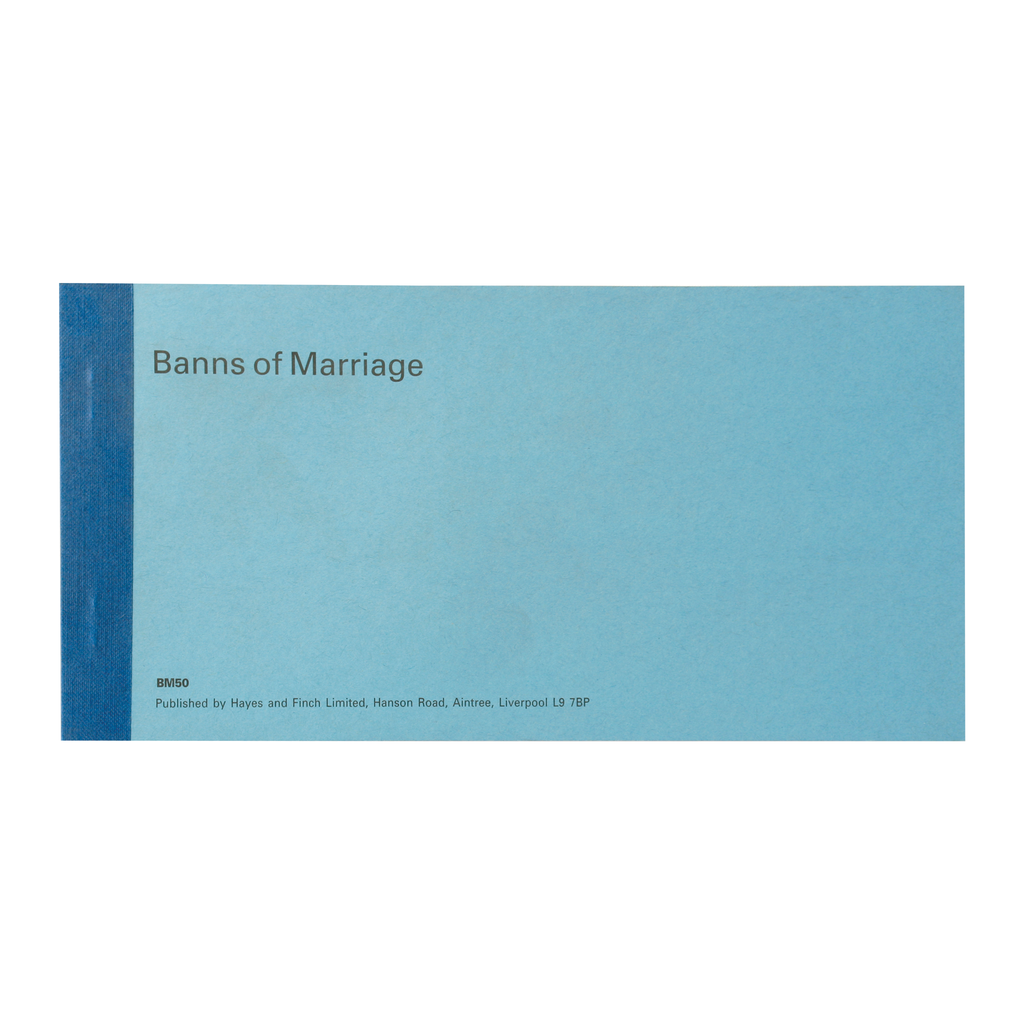 church record certificates - banns of marriage