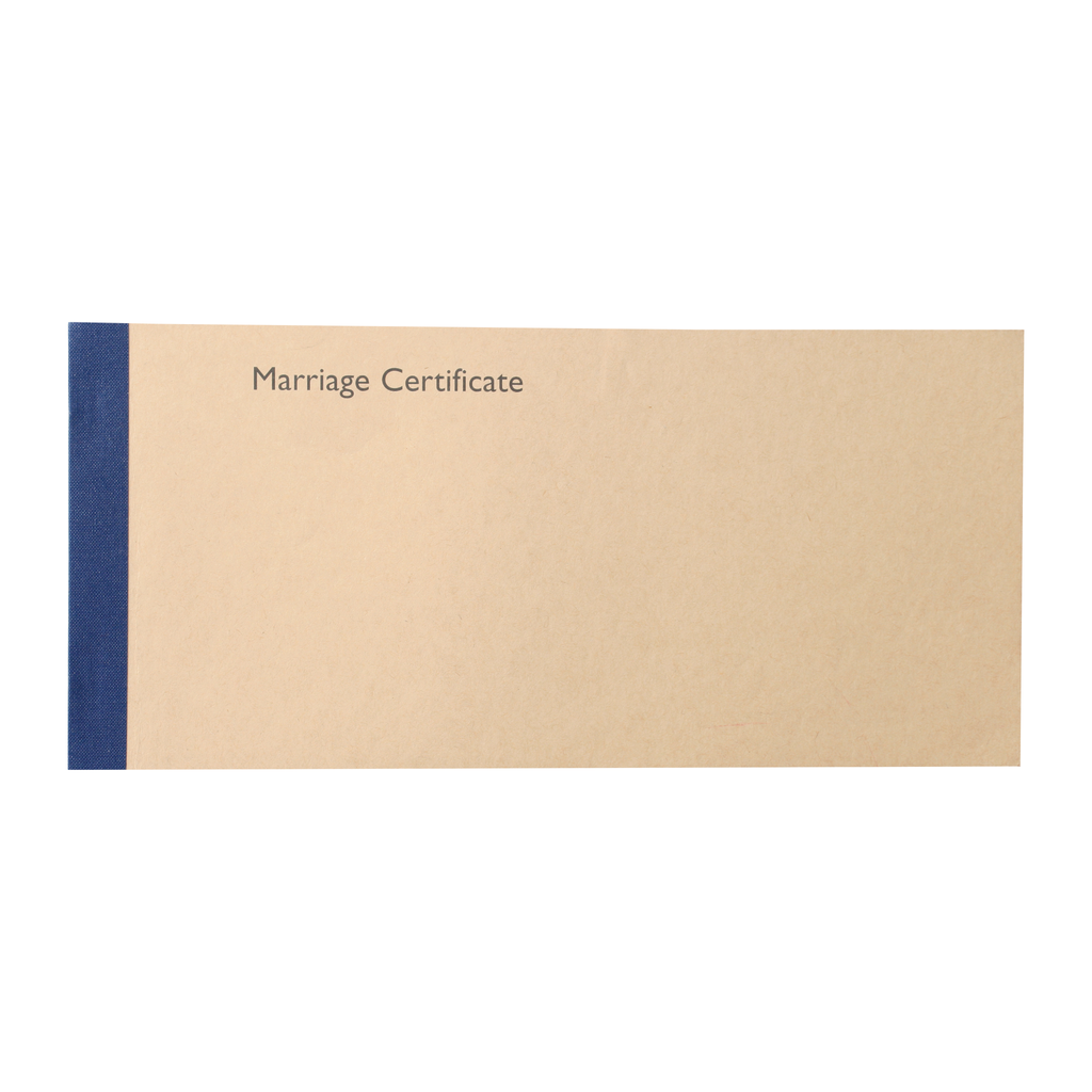 church record certificates - marriage