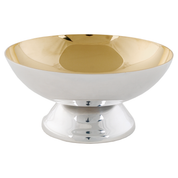 consecration metal silver plate and gold plate paten