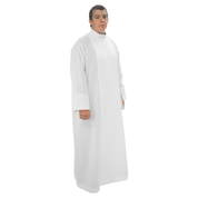 double breasted cassock alb