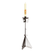 wrought iron paschal candle stand - special offer set