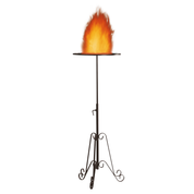 wrought iron vigil fire stand - special offer set