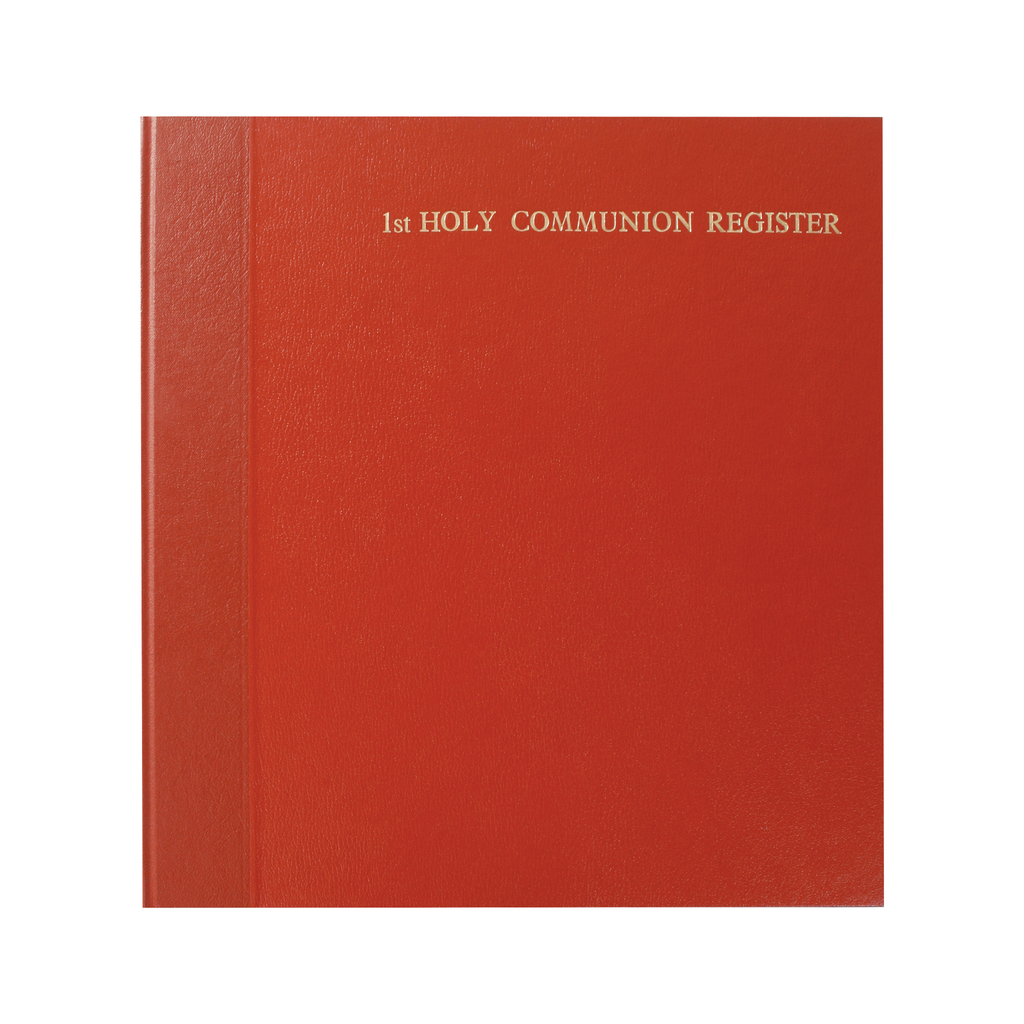 first holy communion register - front cover