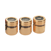 gold effect screw top lid holy oil stock - cat chr and inf