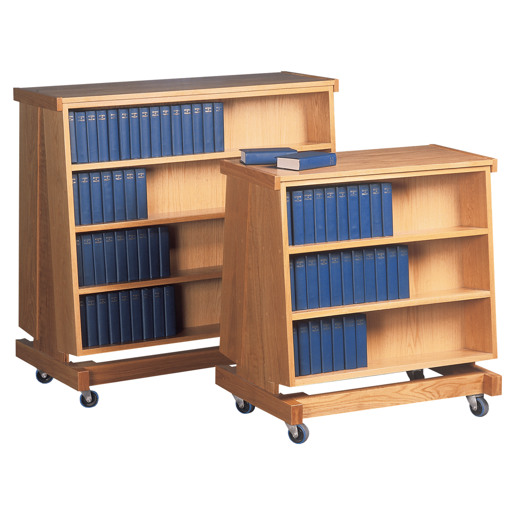 hymn book oak trolley