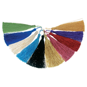 rayon stole tassel - all colours