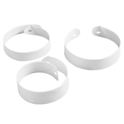 roman white plastic collar - all depth sizes