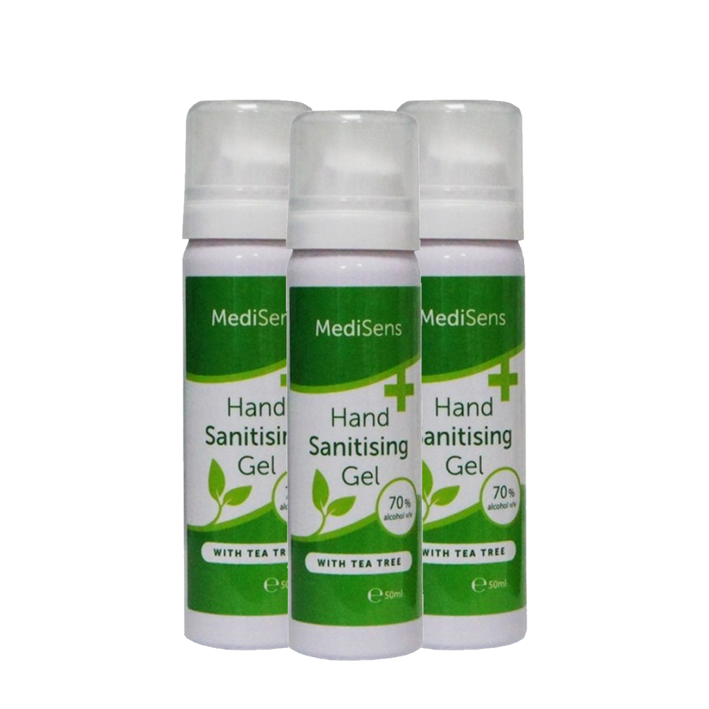 hand sanitiser gel - case of bottles