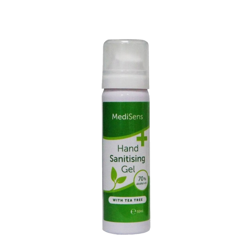 hand sanitiser gel - single bottle