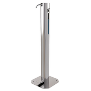 stainless steel hand sanitiser unit