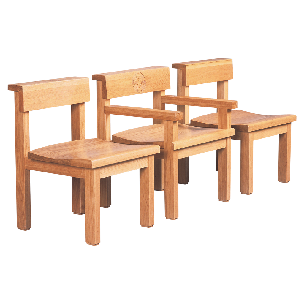 St cuthbert side chair with matching presidential armed chair
