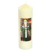 st patrick transfer priory candle