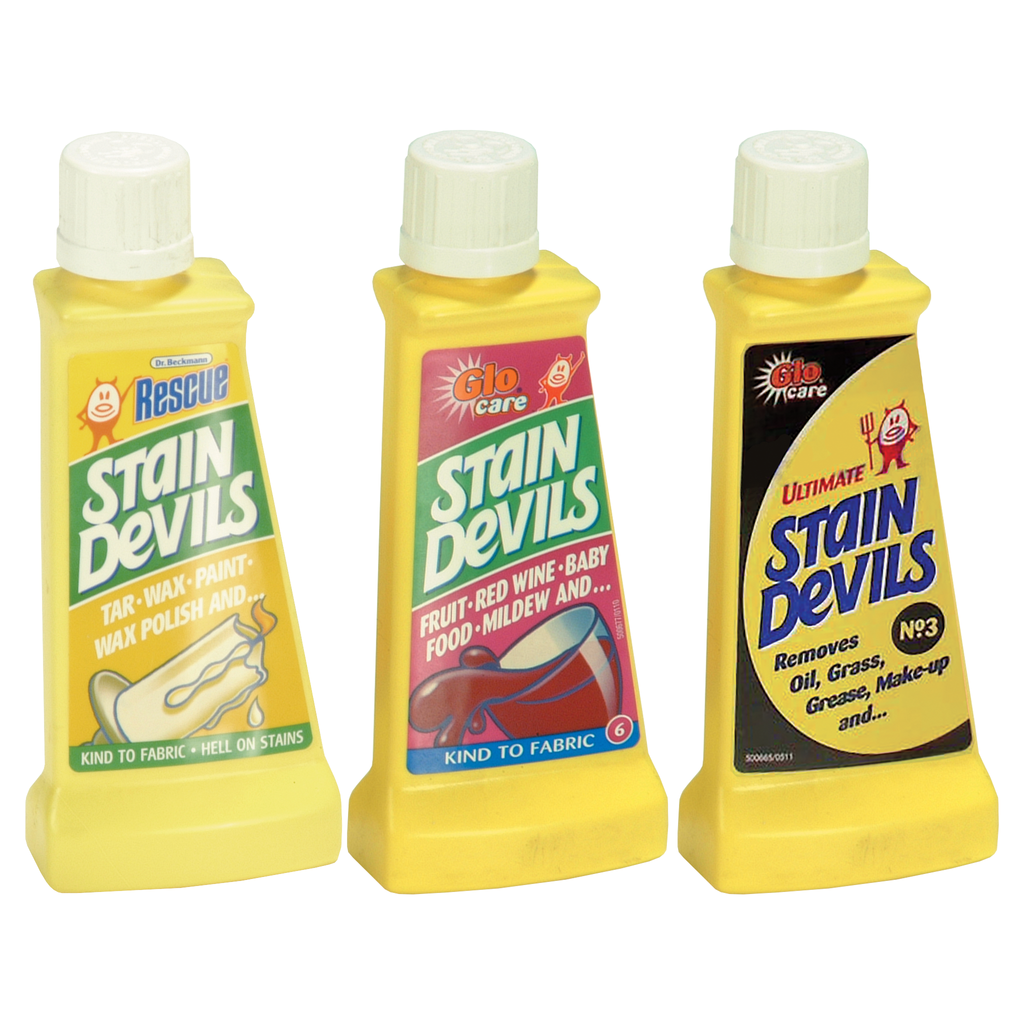 stain devils removers - all options