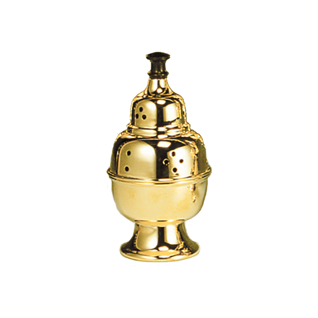 standing brass incense burner