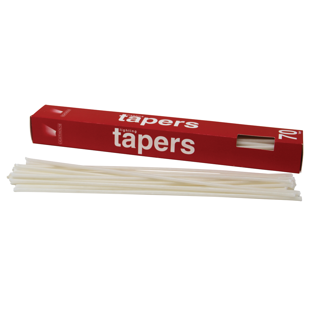 lighting tapers box of 70