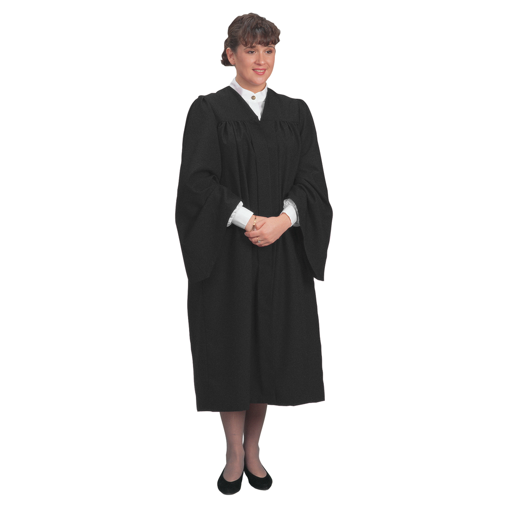traditional choir gown - black
