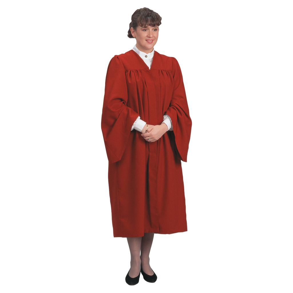traditional choir gown - red