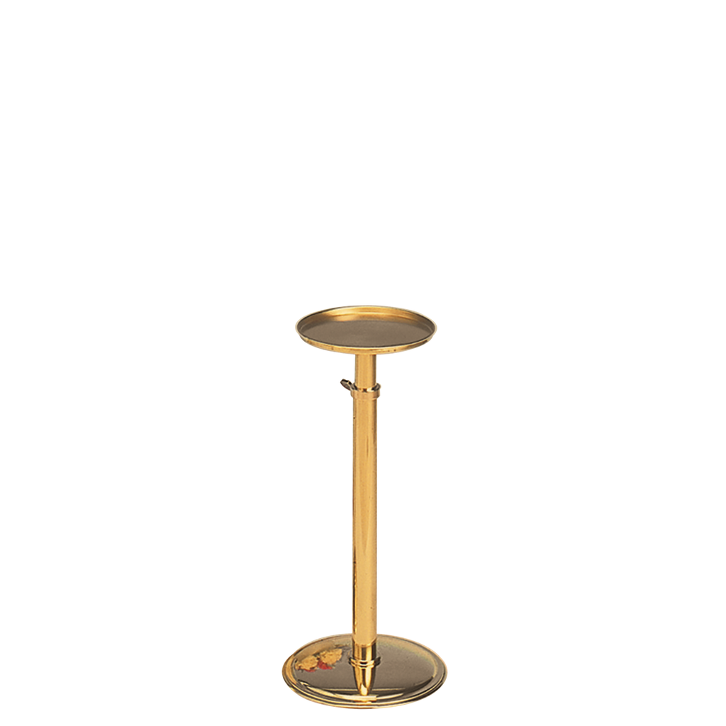 brass telescopic vase stand - small