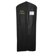 vestment cover with full length zip and window