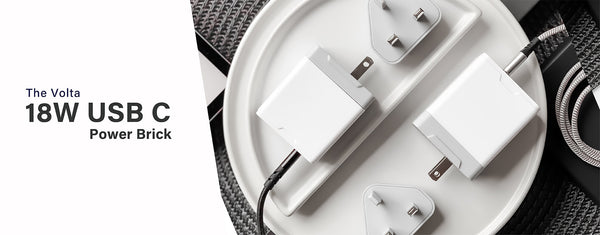 Introducing the Volta 18W Compact USB Type C Power Delivery Charger