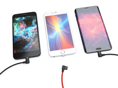 Introducing The Right Angle Volta Magnetic Charging Cable