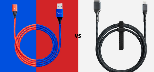 Volta Magnetic Charger vs Nomad Charging Cable - What's Different?