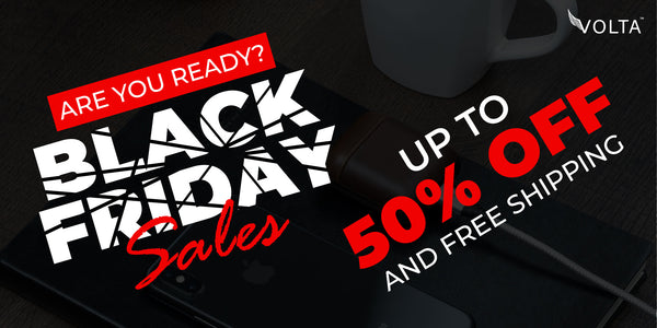 Volta Charger - Black Friday Cyber Monday ToDo List