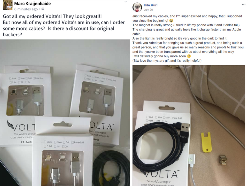 Volta Magnetic Charger Reviews