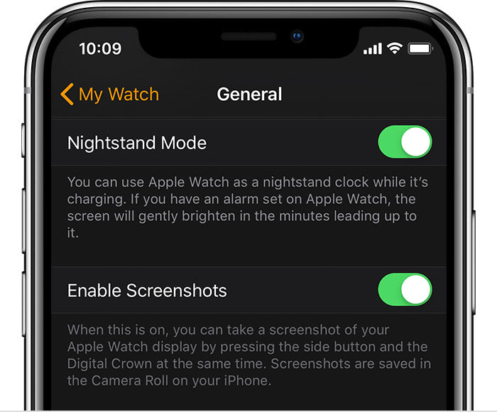 Taking Screenshot on Apple Watch