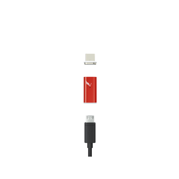 A built-in resistor allows the Volta XL to use one of your devices to recharge the other.