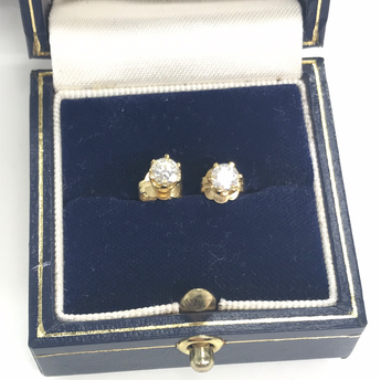 Diamond Earrings 0.66 carat