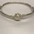 Sterling Silver Pandora Patterned Bangle