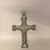 Sterling Silver Stone Set cross Pendant