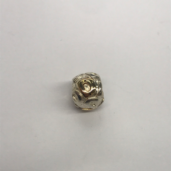 Sterling Silver And Gold Plated Pandora Charm