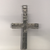 Sterling Silver Stone Set large Cross Pendant