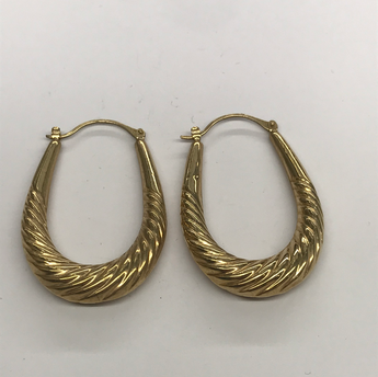 Second Hand Ladies 9ct Earrings