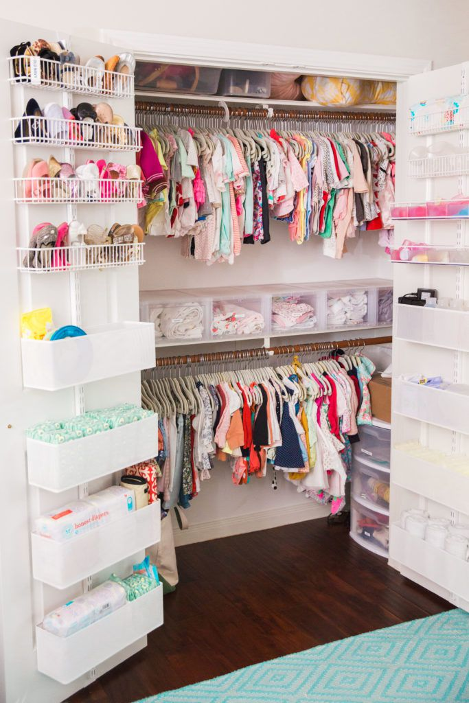 How to keep your baby's wardrobe tidy & organised